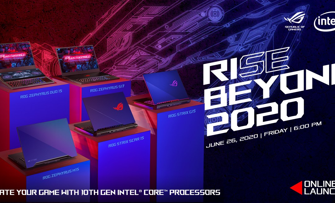 The Republic Of Gamers Officially Unveils The Prices For Its Intel 10th Generation Line-Up This Friday!