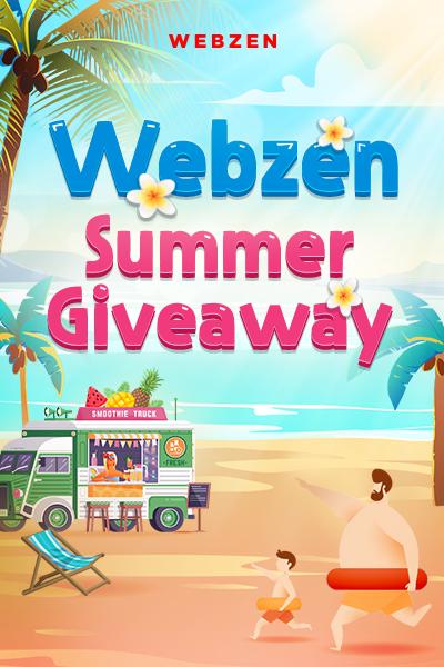 WEBZEN.COM's Summer Event Giveaway 2020