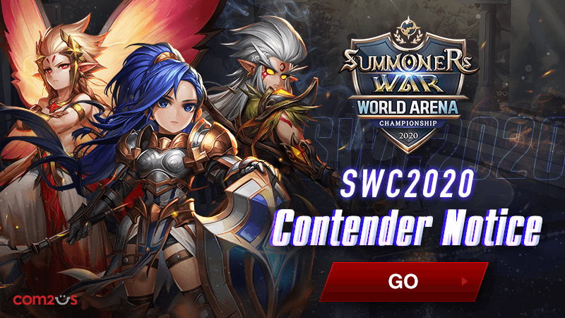 Summoners War announced the contender list & schedule of SWC 2020