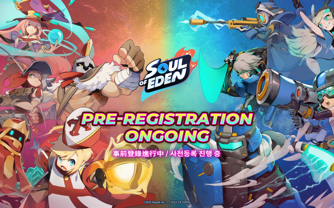 Competitive Card Game Soul of Eden Launches Worldwide Pre-Registrations