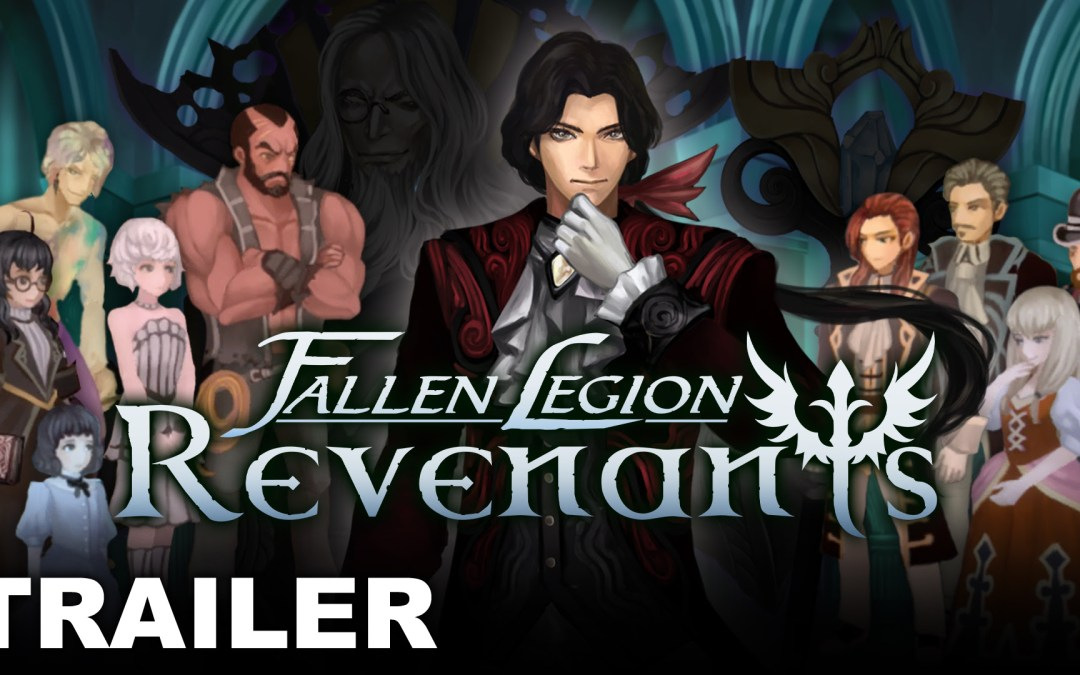 Intrigue awaits in new character trailer for Fallen Legion Revenants!