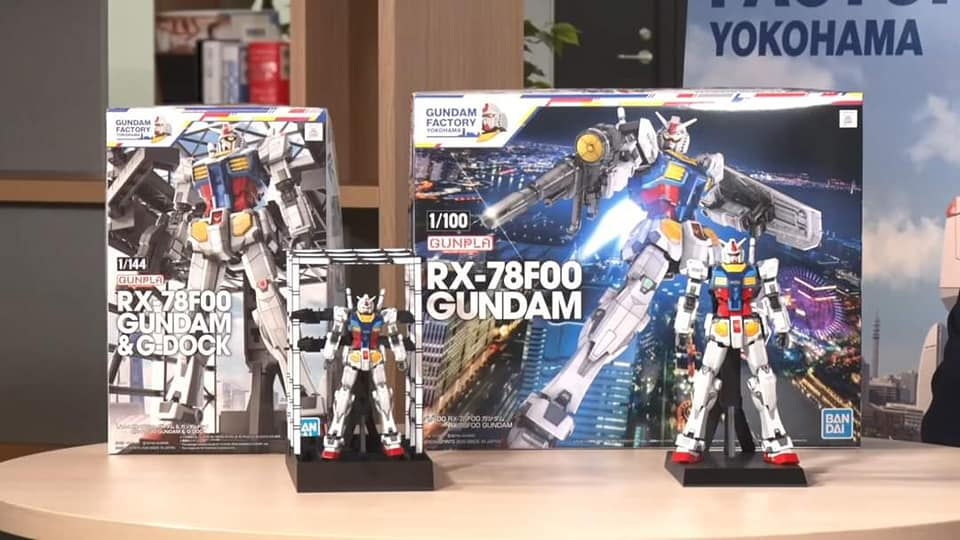 Bandai Reveals the Gundam Factory Yokohama Model Kits