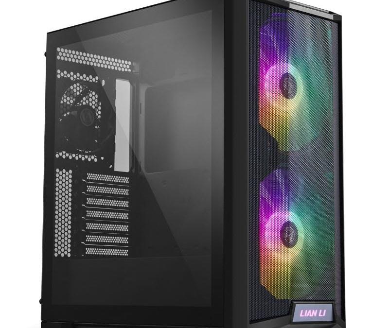 LIAN LI Introduces 2 x 200mm RGB Fan Mid-Tower LANCOOL 215
