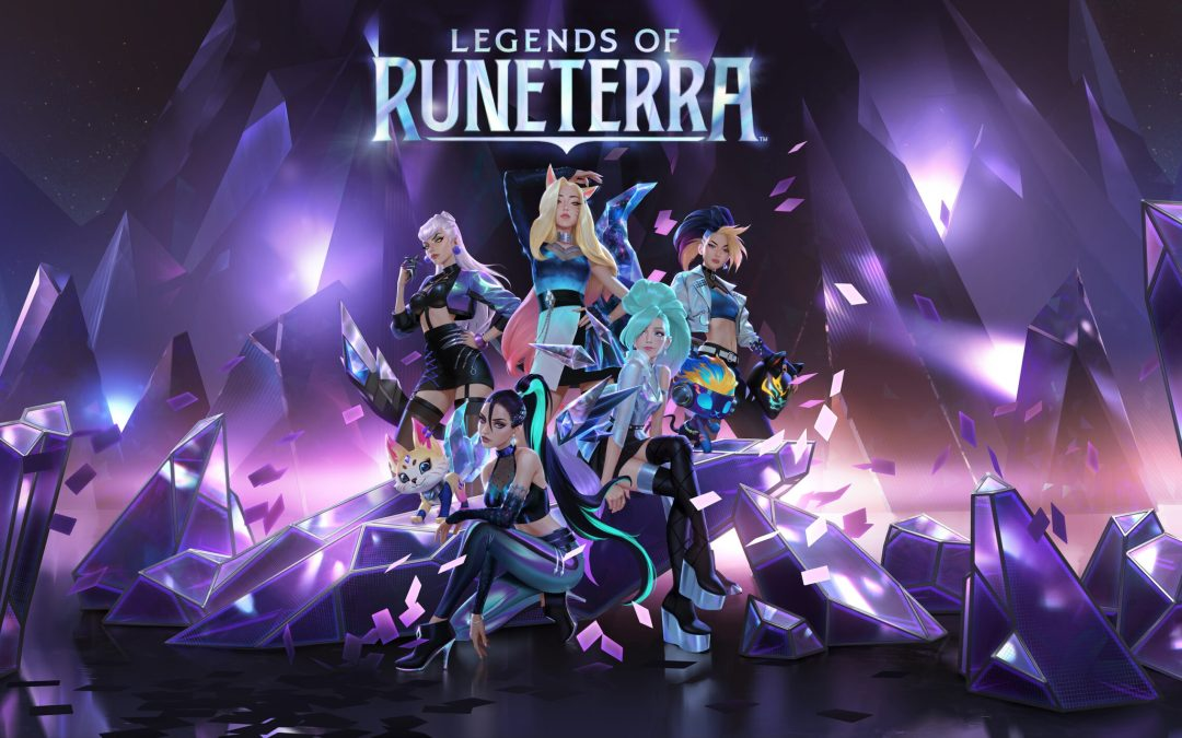 K/DA All Out, Coming at you LIVE in Legends of Runeterra