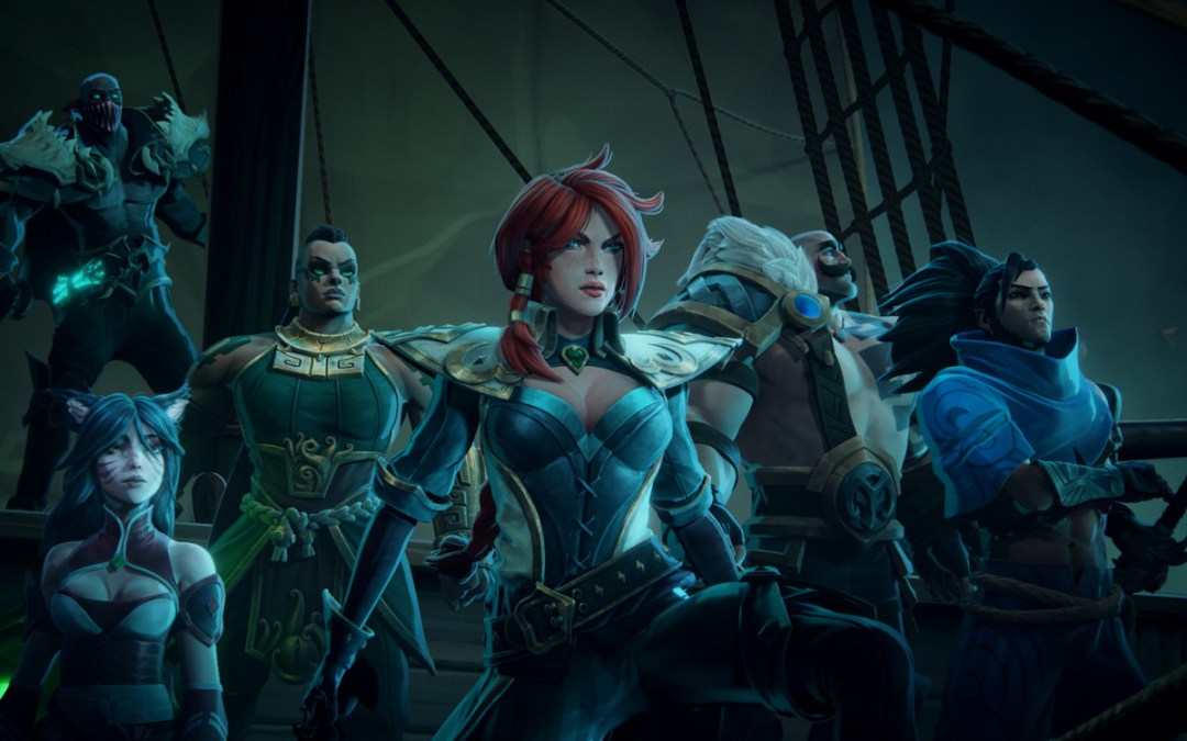 Rise Against Ruin in Ruined King: A League of Legends Story, Available on Console and Pc in Early 2021