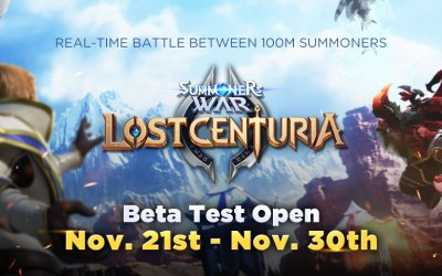 Summoners War: Lost Centuria Begins Pre-download for Beta Test
