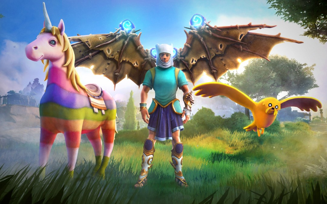Immortals Fenyx Rising gets an epic character pack from Cartoon Network's Adventure Time