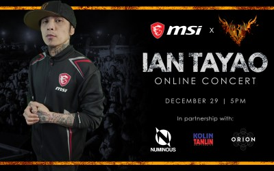 Rock and Roll Your Way to the New Year with MSI's Virtual Year-end Concert Party