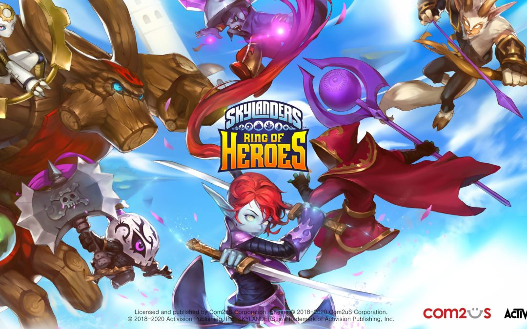 Skylanders Ring of Heroes releases additional update with new portal master and characters
