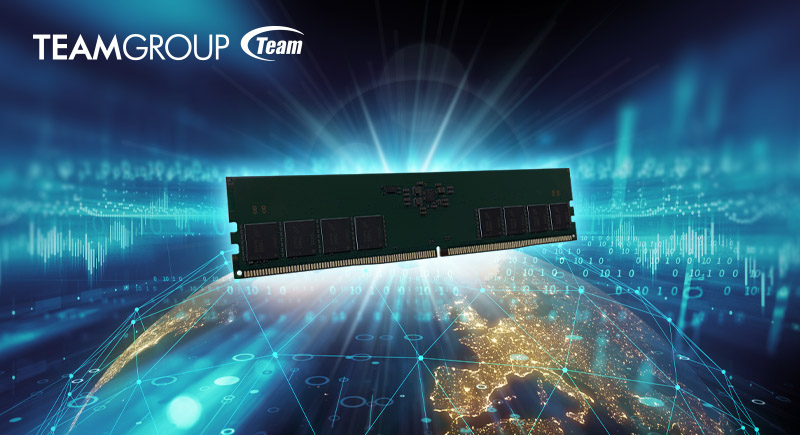TEAMGROUP is Taking the Global Lead in the New DDR5 Generation
