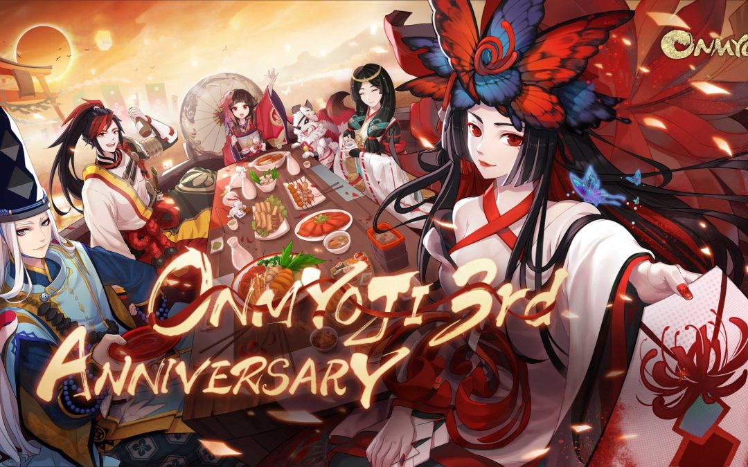 The Onmyoji English Server 3rd Anniversary Starts Today