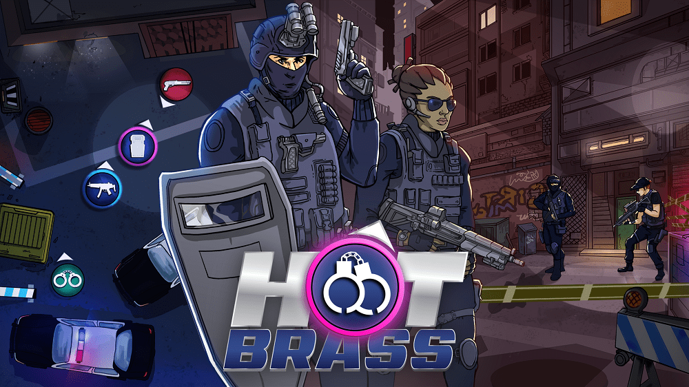 Hot Brass, the tactical SWAT game, is OUT NOW