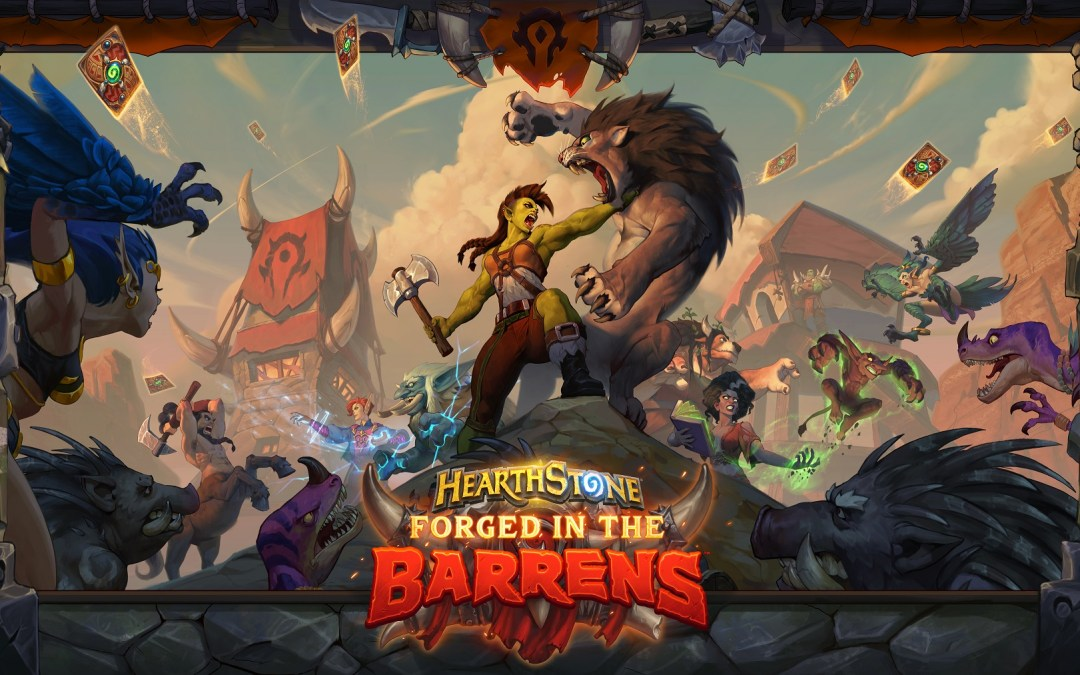 Hearthstone marches ahead with card reveal season for Forged in the Barrens