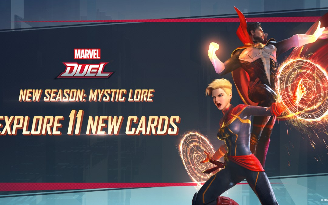 11 New Cards Join Marvel Duel's Mystic Lore Season