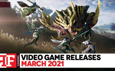 Video Game Releases: March 2021