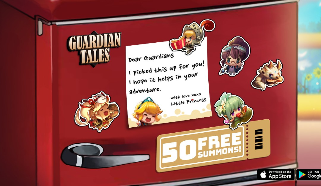 Guardian Tales celebrate massive updates with Free 50 Summons Event!