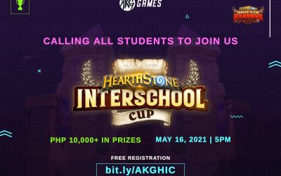 AKG Games presents Philippine's first Hearthstone Interschool Cup