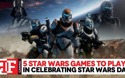 5 Star Wars Games to Play in Celebrating Star Wars Day