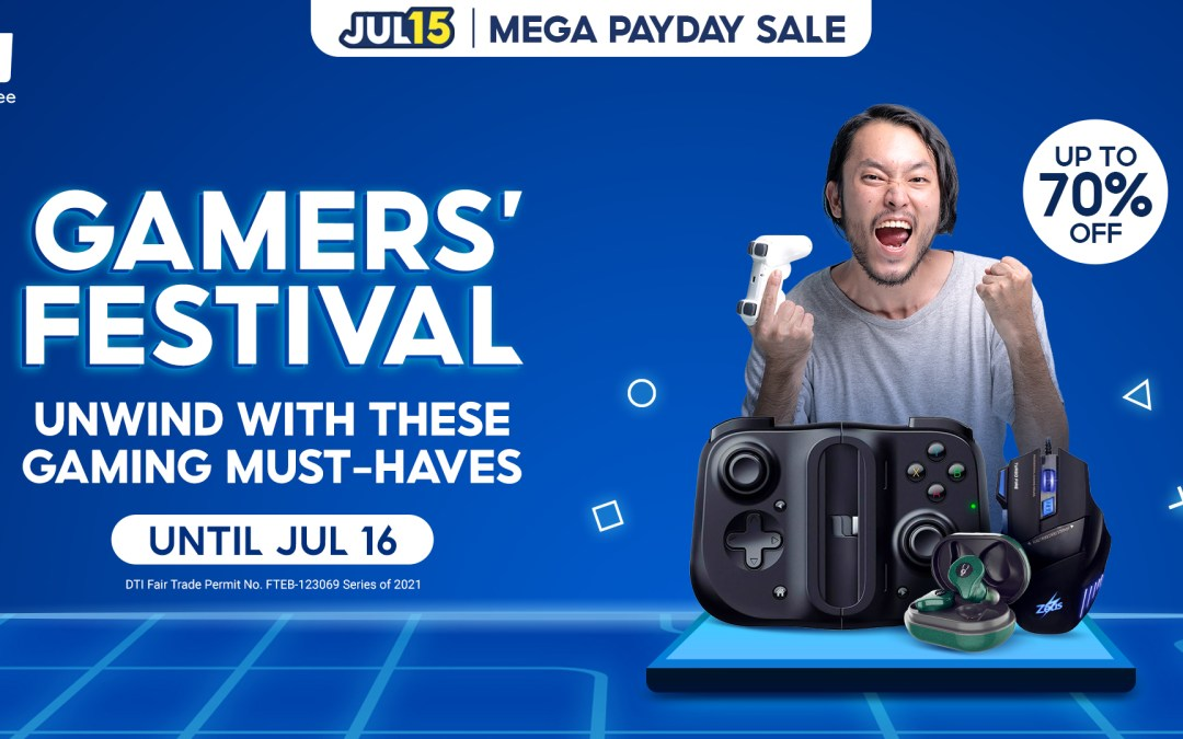 Unwind from Your Daily 9 to 5 with these Gaming Must-Haves from Shopee