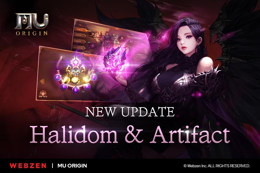 MU Origin's latest 16.0 update adds Halidom and Artifact