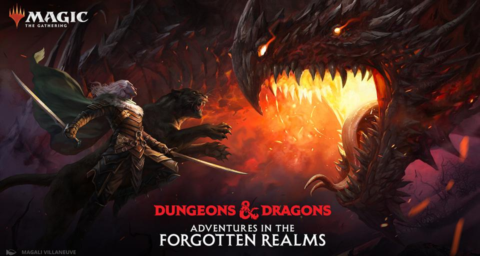Magic: The Gathering Gets a Dungeons & Dragons-themed Set