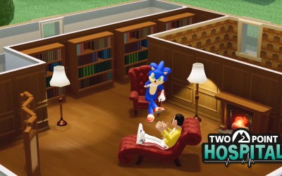Two Point Hospital Gets a Sonic Crossover