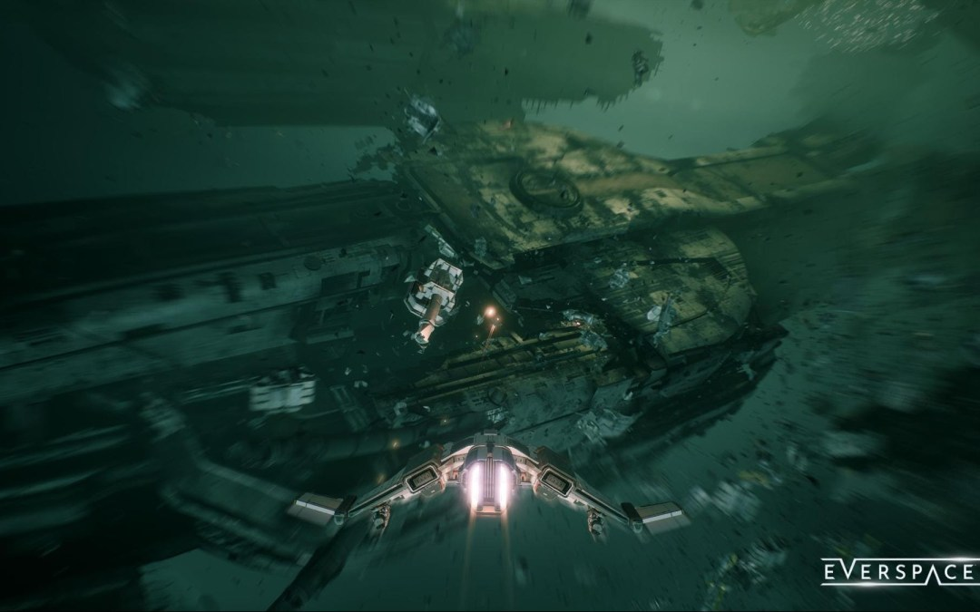 Everspace 2 Update Zharkov: the Vortex Grand Opening is now available