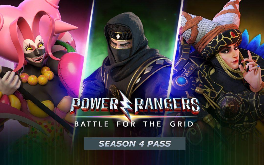 Power Rangers: Battle For The Grid Season 4 features Adam Park, Rita Repulsa and more