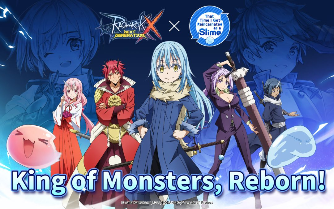 Ragnarok X's That Time I Got Reincarnated as a Slime Event Collaboration is Now Live