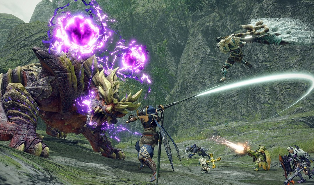 Monster Hunter Rise Heading to Steam in Early 2022