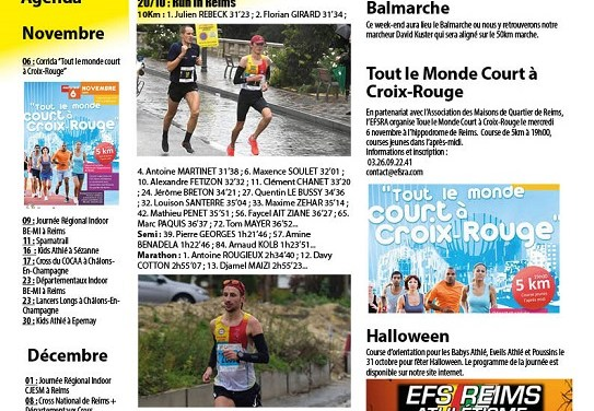 Newsletter du 22 octobre