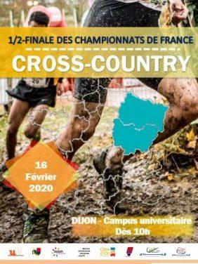 16 février 2020 – 1/2 finale championnats de France de cross