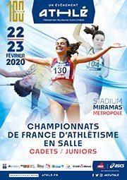 22-23 février 2020 – Championnats de France Cadets-Juniors