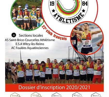 Dossier d'inscription 2020-2021