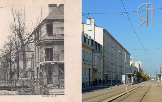 Abri bétonné avenue de Laon - 1919