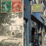 Le «Restaurant d'Espagne» avenue de Laon