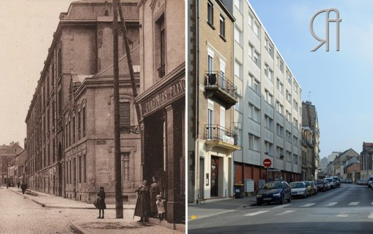 Rue du Barbâtre à l'angle de la Rue St-maurice
