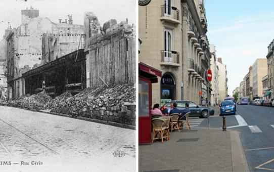 La rue Cérès et le comptoir de l'Industrie
