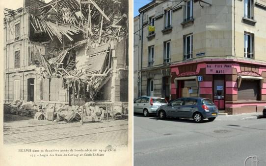 Angle des Rues de Cernay et de Croix-St-Marc