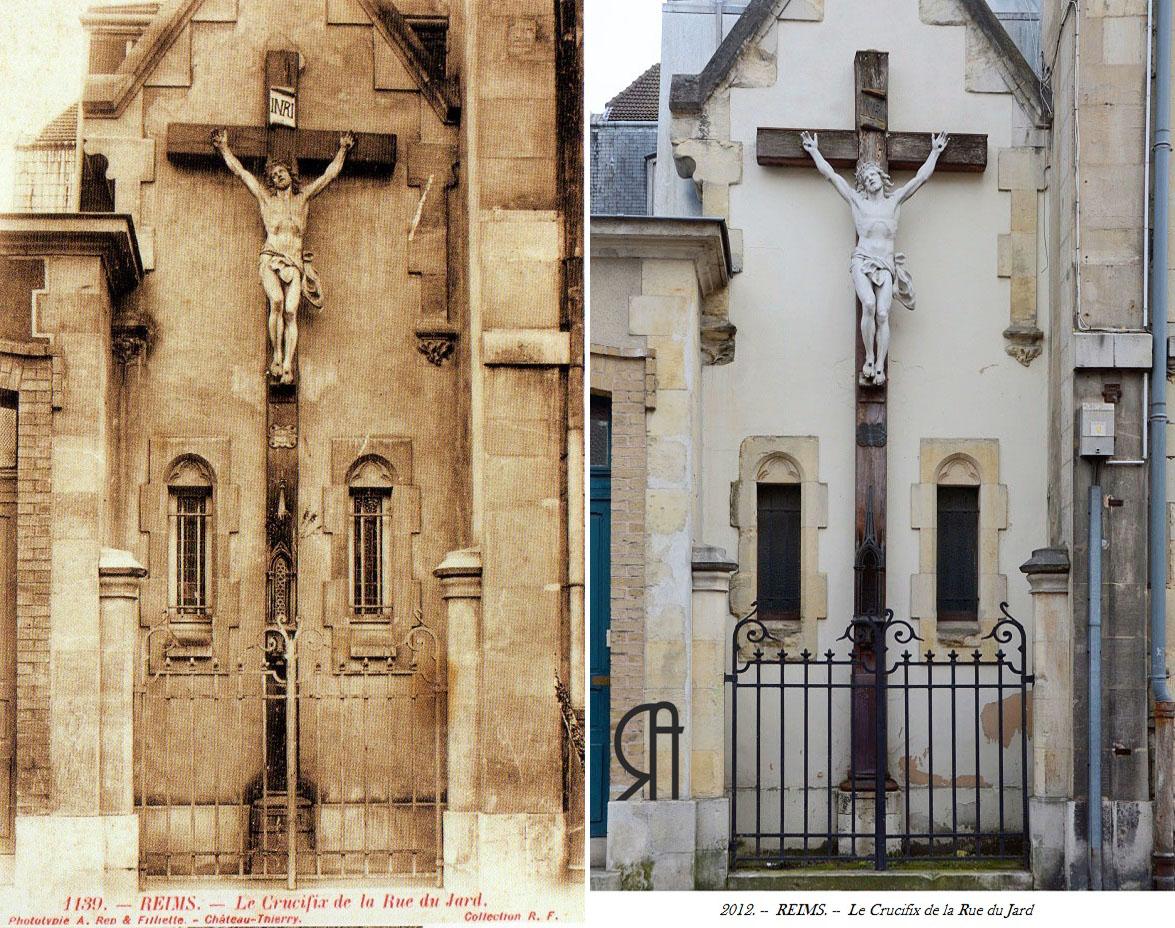 Crucifix rue du Jard