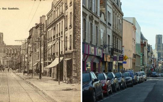 La rue Gambetta