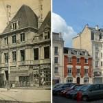 La Reconstruction : Place de l'Hôtel de ville