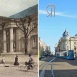 La rue Carnot vue depuis le Palais de Justice – 1906
