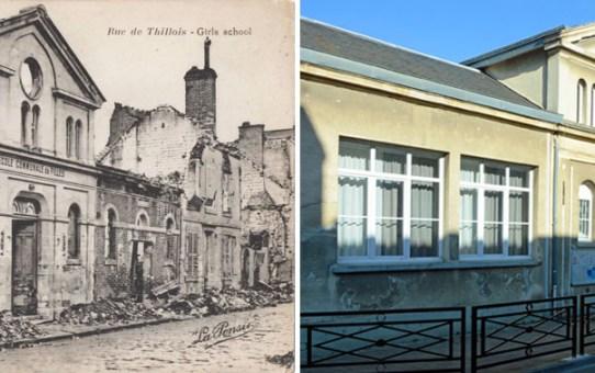 L'Ecole de la rue de Thillois en 1919
