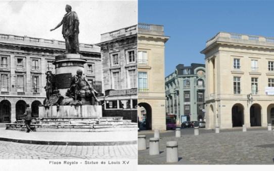 La Place Royale après la Reconstruction