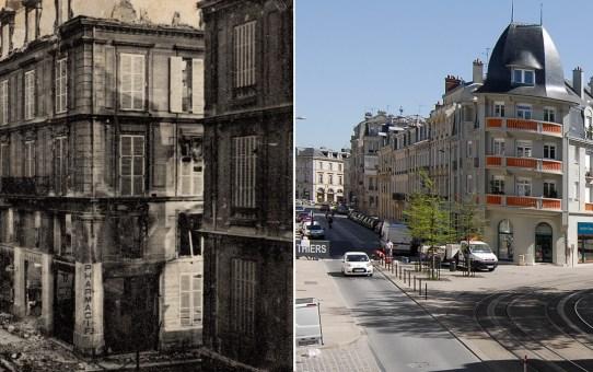 Rue Thiers pendant la Grande Guerre
