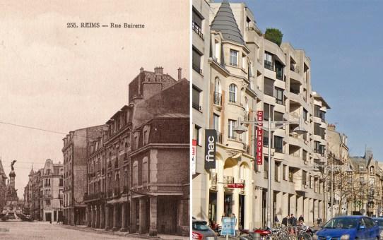 Rue Buirette et l'hôtel Cécyl
