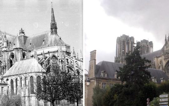 La Cathédrale, l'abside et le Palais du Tau
