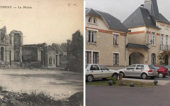 La Mairie de Bétheny à trois époques