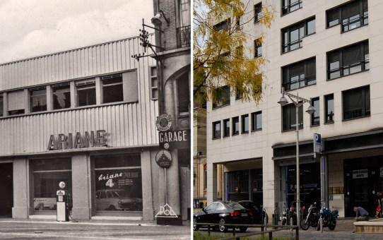 Le garage SIMCA, rue Buirette